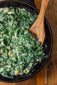Greek style spinach
